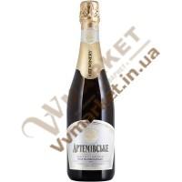 Вино ігристе Артемівське напівсолодке біле, біла эт. 0,75л