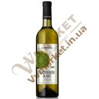 """Вино Cartaval """"Совиньон блан"""", біле, сухе, 0.75л, Чилі"""