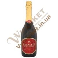 Шампанское Bazaleti красное полусладкое, 0.75л