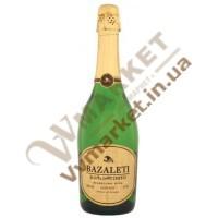 Шампанское Bazaleti полусухое, 0.75л