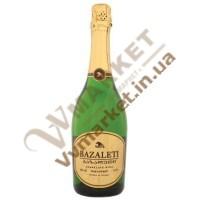 Шампанское Bazaleti полусладкое, 0.75л