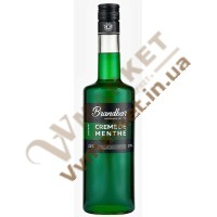 Лікер м'ятний Brandbar Crème de Menthe, 0.75л