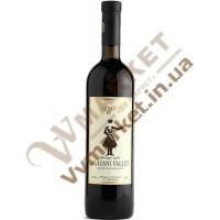 Вино Алазанская долина Бугеули (Bugeuli), красное полусладкое, 0.75л