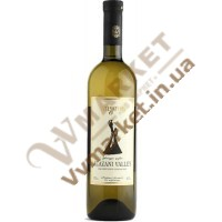 Вино Алазанская долина Бугеули (Bugeuli), белое полусладкое, 0.75л