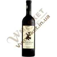 Вино Хванчкара Бугеули (Bugeuli), красное полусладкое, 0.75л