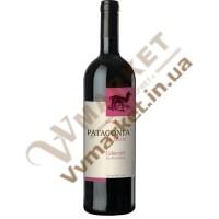 Вино Патагонія Каберне, черв, сухе,75л. Чілі