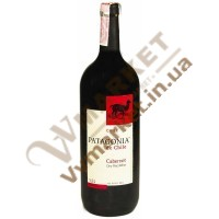 Вино Патагонія Каберне, черв, сухе, 1.5л. Чілі
