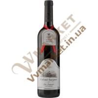 Вино Каберне Савіньон (Cabernet Sauvingnon) витримане червоне сухе 0.75л Чизай