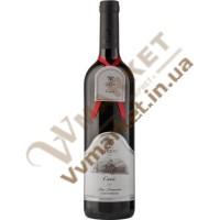 Вино Кюве (Cuvée) витримане червоне сухе 0.75л Чизай