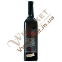 Вино Мерло (MERLOT) червоне сухе 0.75л Чизай