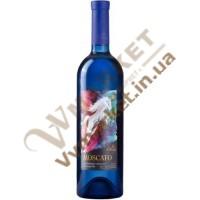 Вино Москато (MOSCATO) слабогазоване біле напівсолодке 0.75л Чизай