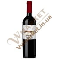 Вино Каберне-Совіньйон Cabernet Sauvignon червоне сухе 0.75л Gorobchiki Cotnar