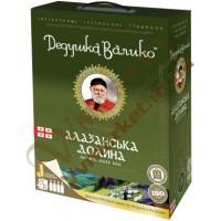 Вино Дедушка Валіко Алаз. дол., біле, н/сол, 3л
