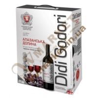 Вино Алаверди DiDi Godori, красное  полусладкое, 2л