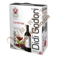 Вино Саперави DiDi Godori, красное  сухое, 2л