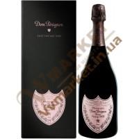 Шампанское Дом Периньон ((Dom Perignon) брют розе, 0.75л в коробке, Франция