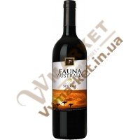 Вино Fauna of Australia Шираз, красное, сухое, 0.75л