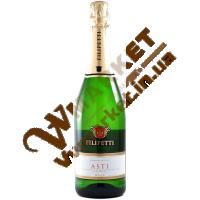 Вино ігристе Філіпетті Асті, біле, солодке, 0,75л. Італія