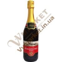 Вино ігристе Фраголіно Fontale Fragolino Rosso, червоне, солодке, 0.75л
