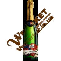 """Шампанське Французький Бульвар """"С днем рождения"""" н/сол, бiле 0,75л"""