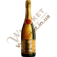 Шампанське ігр. Французький Бульв Gold, бiле, сол., 0.75л
