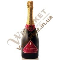 Шампанське Французький Бульв SE, черв, н/сол 0,75л
