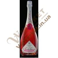 Шампанське Французький Бульв Sweet Dreams, рожеве, н/сол 0,75л