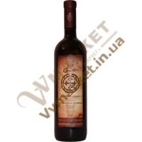 Вино Алазанська долина Gelatii, червоне  напівсолодке, 0.75л