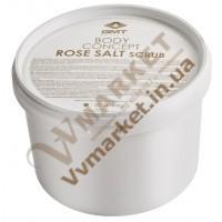Розовая соль для ванн и пинд (ROSE BATH SALT), 1кг, GMT Beauty