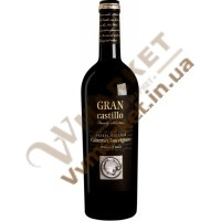 Вино Гран Кастілло Каберне Совіньйон Фемілі Селекшн черв., н/сух., 0,75л. Іспанія