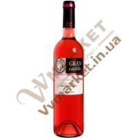 Вино Гран Кастілло Розе Темпранільйо рож, н/сол., 0,75л. Іспанія
