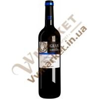 Вино Гран Кастілло Темпранільйо черв, н/сол., 0,75л. Іспанія
