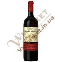 Вино Grand Manoir Каберне (CABERNET), черв, сухе, 0.75л