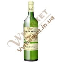 Вино Grand Manoir Шардоне (CHARDONNAY) Біле сухе, 0.75л