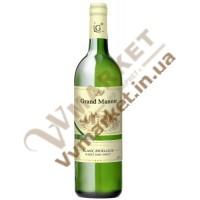 Вино Grand Manoir Біле напівсолодке, 0.75л