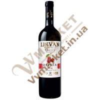 Вино Вишня Ijevan плодовое красное полусладкое 0.75л