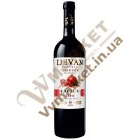 Вино Гранат Ijevan плодовое красное полусладкое 0.75л