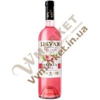 Вино Чайная Роза Ijevan розовое полусладкое 0.75л