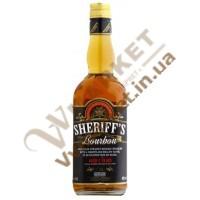 Бурбон виски Sheriffs 0.7л