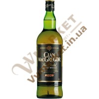 Віскі Клан Мак Грегор (Clan MacGregor) 40% 0.5л Шотландія
