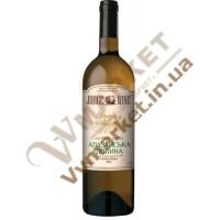 Вино Алазанская долина Jorge wine, белое полусладкое, 0.75л