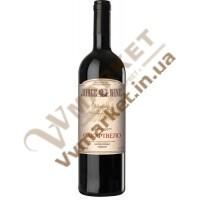 Вино Сакартвело Jorge wine, красное полусладкое, 0.75л