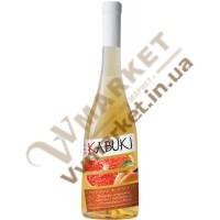 """Винний напій """"Персик-Грейпфрут"""" білий, н/сух., 0,75л. ТМ """"Кабукі"""""""