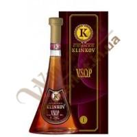 Коньяк KLINKOV VSOP Клинков в коробке 40%, 0.5л