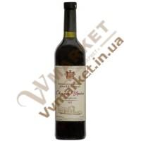 Вино Оксамит України (марочне) сухе червоне Князь Трубецкой 0,75л