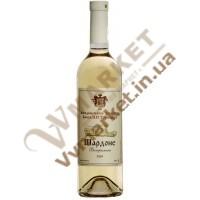 Вино Шардоне (витримане) сухе бiле Князь Трубецкой 0,75л