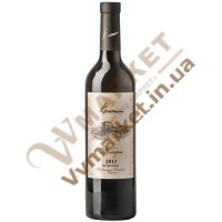 Вино Каберне (витримане) сухе червоне Колоніст 0.75л