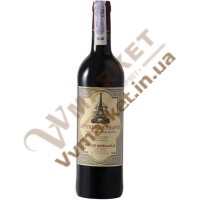 Вино Леттр Де Франс Руж, черв, н/сол., 0,75л. Франция