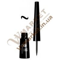 Жидкая подводка для глаз, черная, 2.5мл, LR Colours
