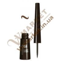 Жидкая подводка для глаз, коричневая, 2.5мл, LR Colours